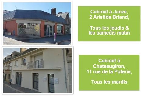 cabintets Janze et Chateaugiron